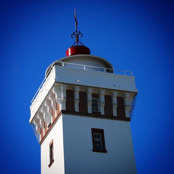 Toppen af Helnæs Fyr på en smuk septemberdag  #visitfyn #fyn #sea #lighthouse #fyr #fyrtårn #visitdenmark #naturelovers #nofilter #natur #denmark #danmark #dänemark #landscape #nofilter #assens #mitassens #vildmedfyn #fynerfin #vielskernaturen #visitassens #instapic #picoftheday #sommer #september #beautiful