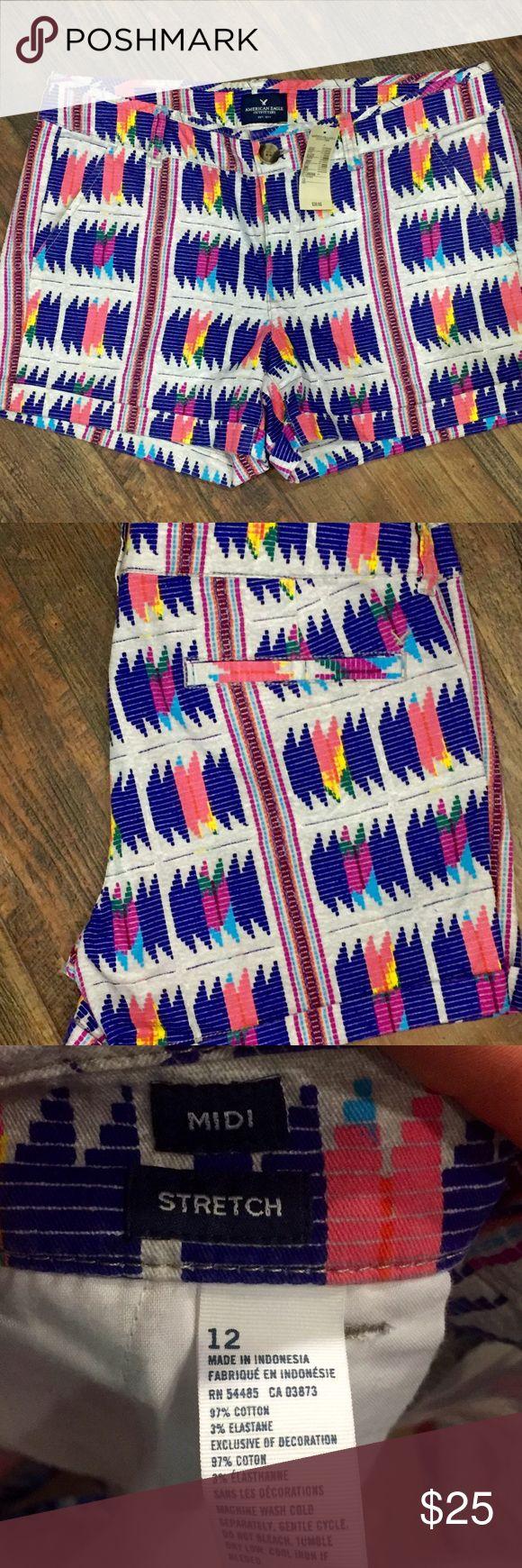 Final price 🆕American Eagle Aztec print shorts 🆕American Eagle Aztec print shorts American Eagle Shorts