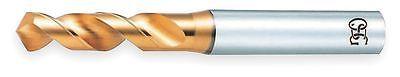 Osg Screw Machine Drill Bit, Size 16.00mm, High Speed Steel, TiN, List Number