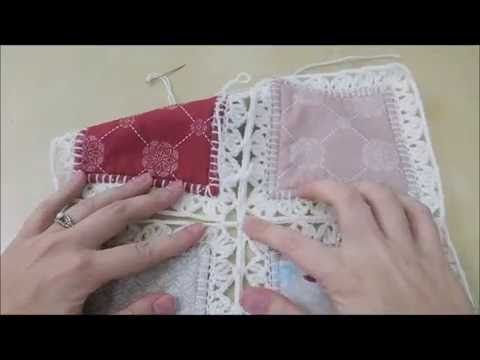 Crochet Quilt Tutorial - Part 4 (Joining Squares) - YouTube