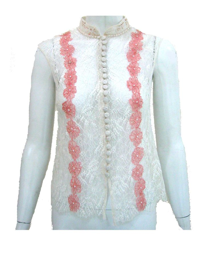 White Lace Blouse (front)