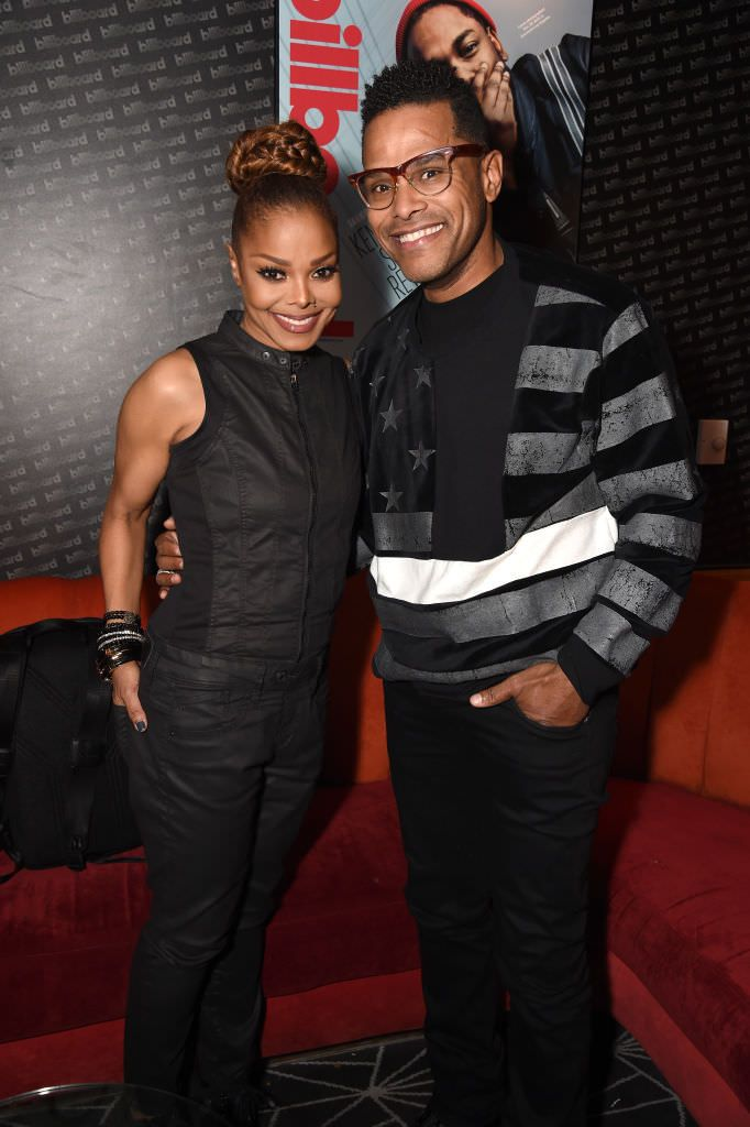 Janet Jackson & Maxwell at her State Of The World Tour After Party: Brooklyn, NY 11/15/17