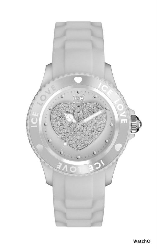 Ice-Watch Ice Love White Unisex size  See more of this Collection at:-  http://www.watcho.co.uk/watches/ice-watch/ice-watch-ice-love-watches.html