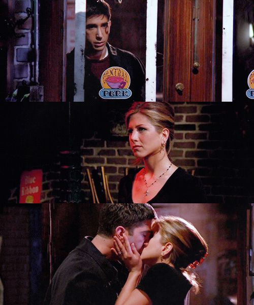 Friends--Ross and Rachel; I want their kind of relationship