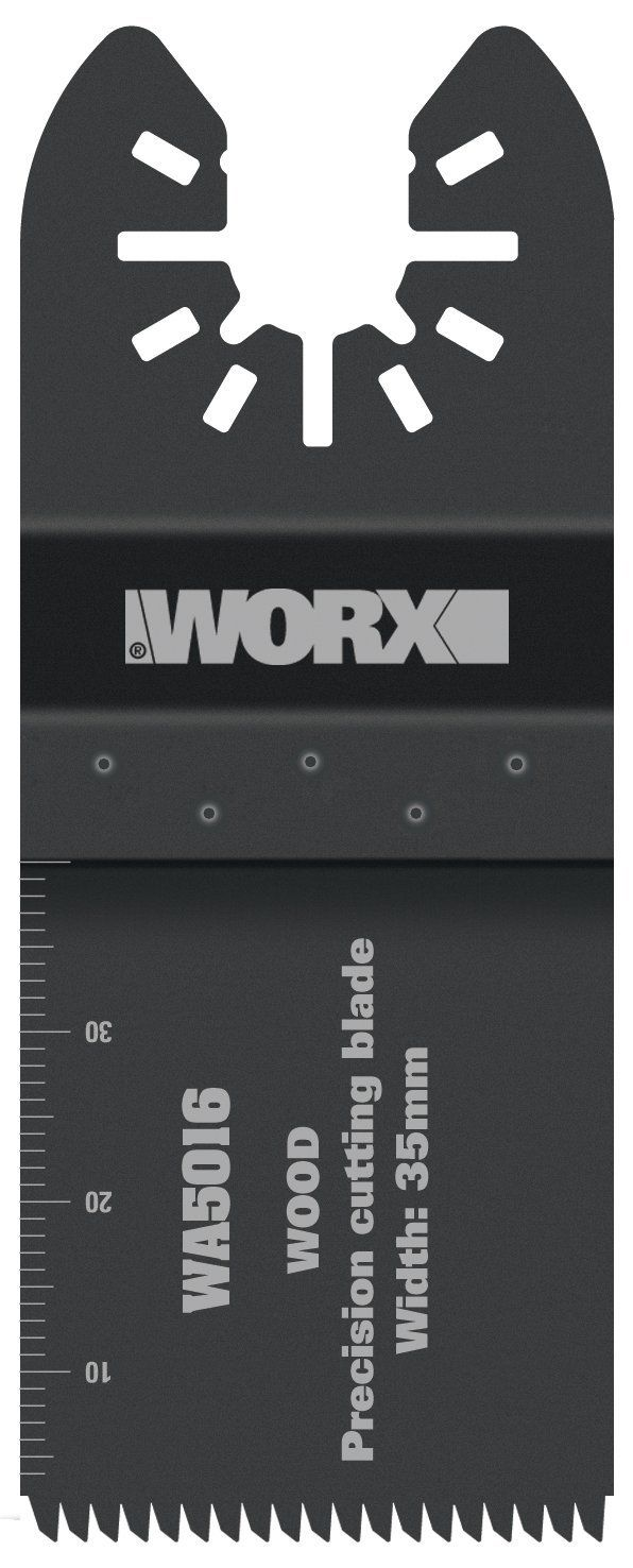 Worx WA5016.3 35mm Sonicrafter Oscillating Multitool Universal Wood Cutting Blade (3 Pieces) ** Want to know more, click on the image. #MowersandOutdoorPowerTools