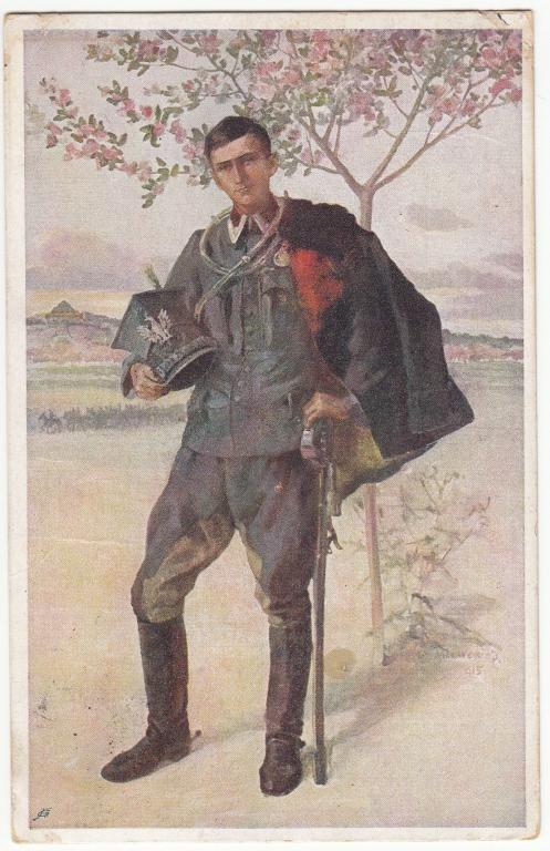 Ułan Legiony Juliusz Makarewicz  1915  (129)