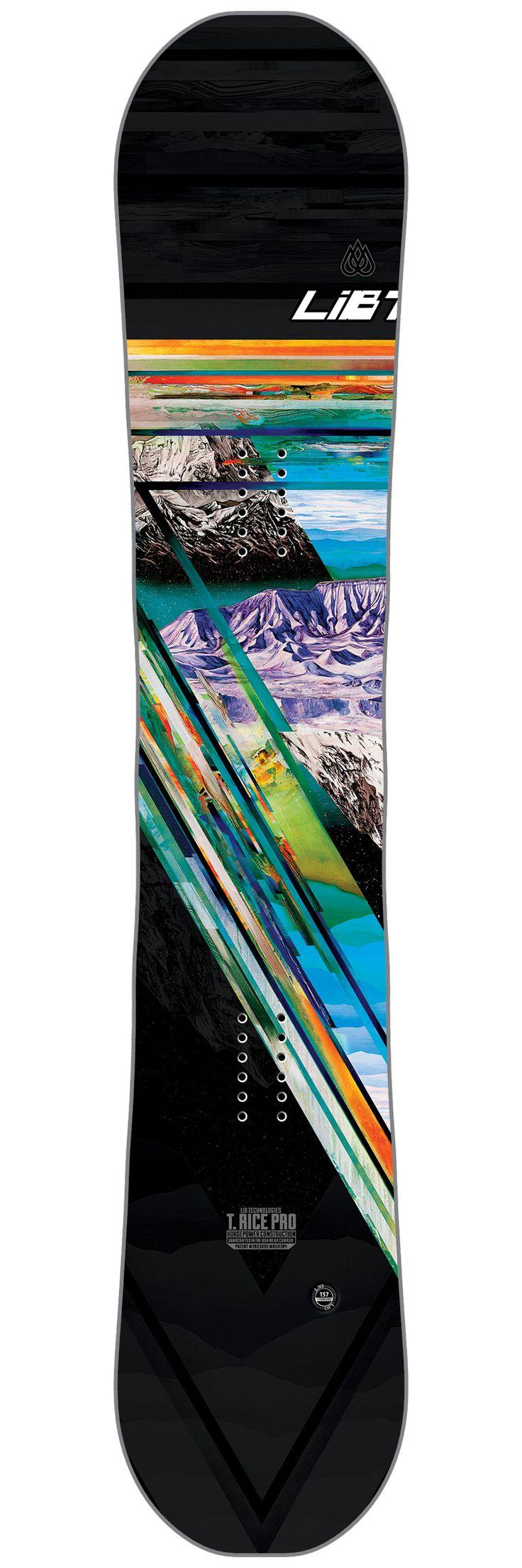 Planche snowboard Lib Tech T.Rice Pro Horsepower 153-dessus 2017
