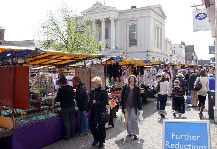 St. Albans market - takes place Saturday and Wednsday