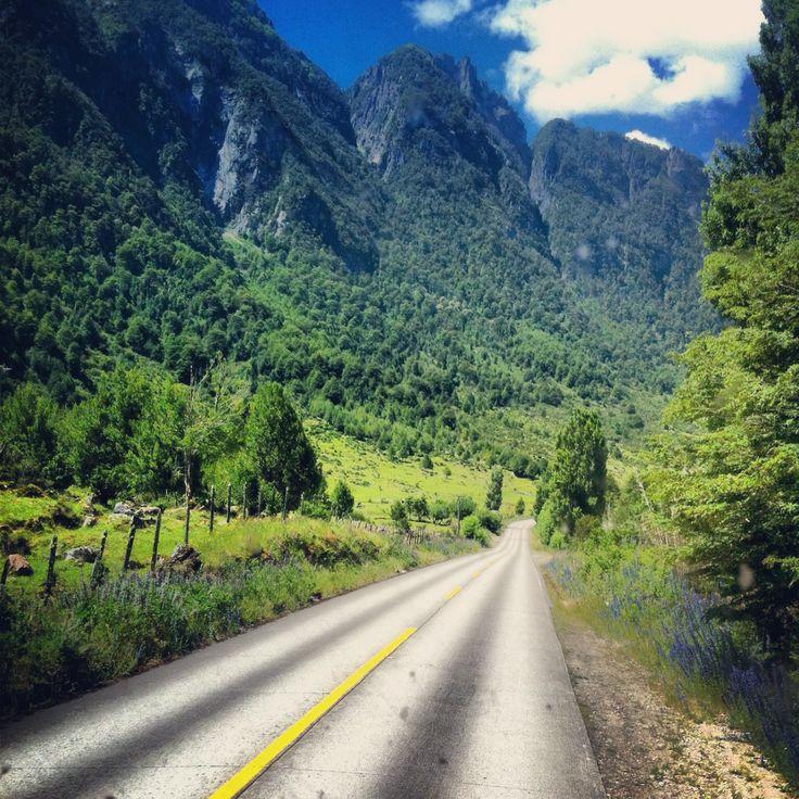 Coyhaique / Camino hacia Puerto Chacabuco