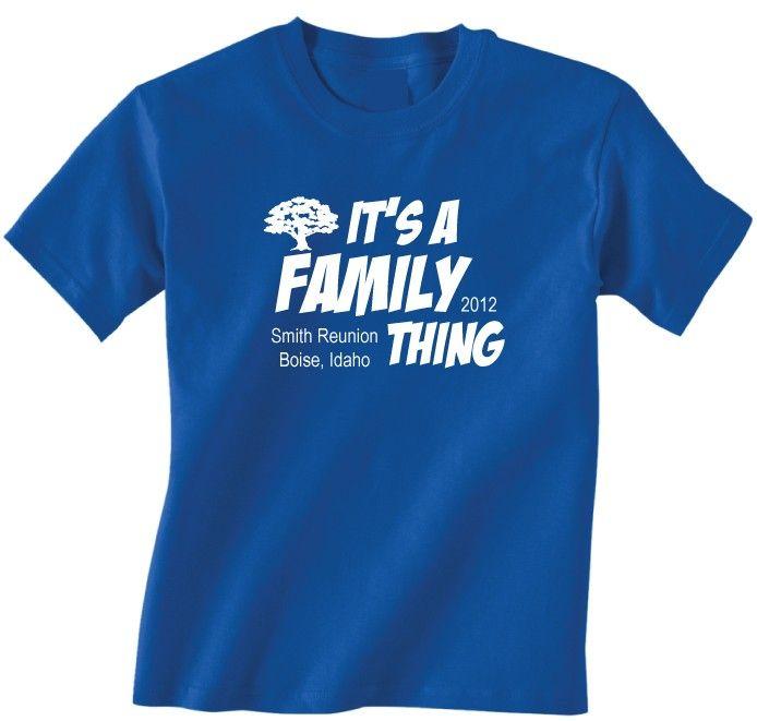 FAMILY REUNION SHIRTS | Family Reunion T Shirts   Fast Lane Clothing Company