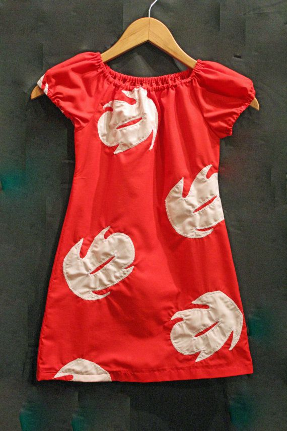 this would be really easy to recreate and I know Lily would be THRILLED to own a lilo dress. Maybe I can get it made by November...?