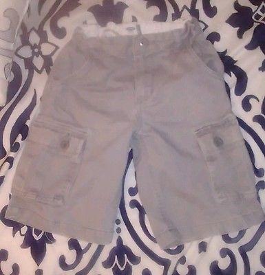 Old Navy Boys Cargo Shorts- sz 7- Gray
