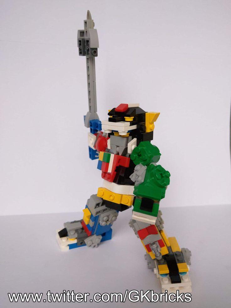 Voltron Legendary Defender Super Robot Space Cyborg Custom Lego Mini Figure Toy