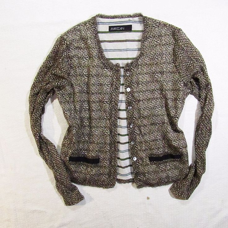 ladies cardigan Marccain  sexy tailored  M #Marccain #Sexy