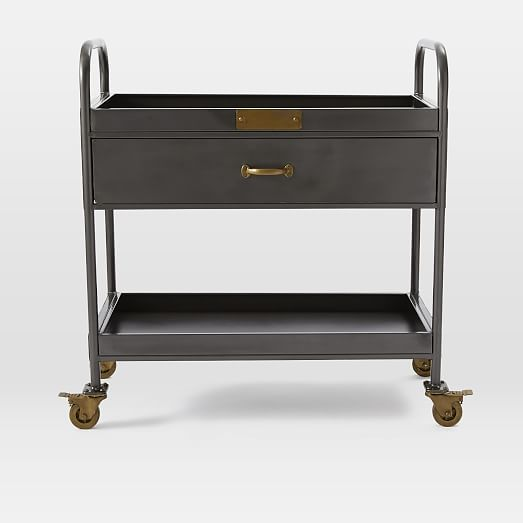 Workshop Bar Cart West Elm Bearspaw Pinterest The