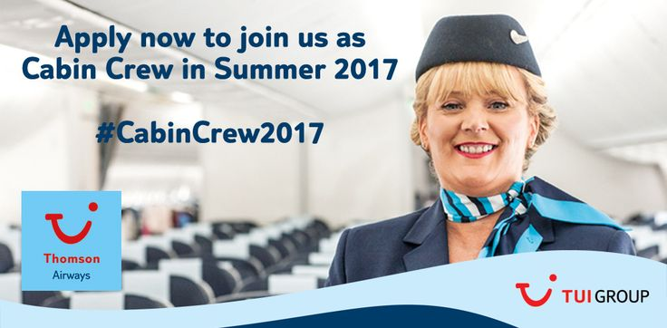 Find our more about Thomson Airways Cabin Crew Jobs and how to apply for an exciting role with one of the world's largest charter airlines.
