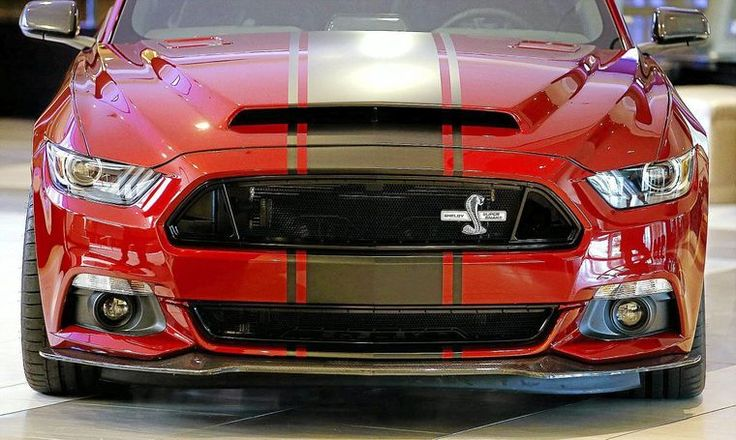Shelby's new Mustang Super Snake