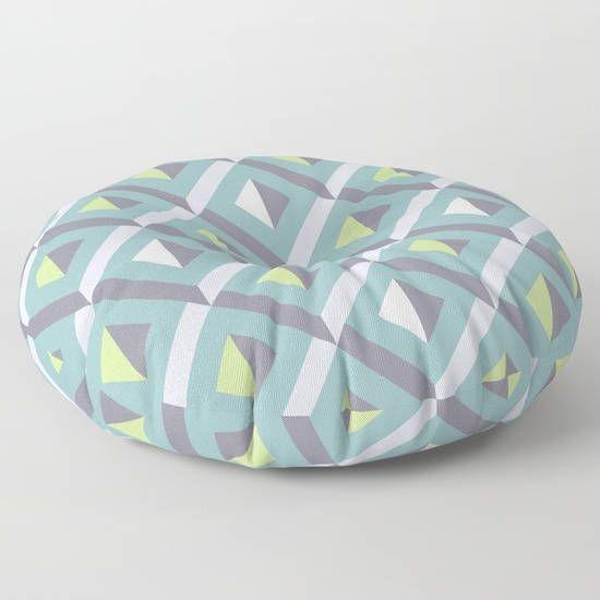 Geometric floor pillowfloor cushionfloor pillow