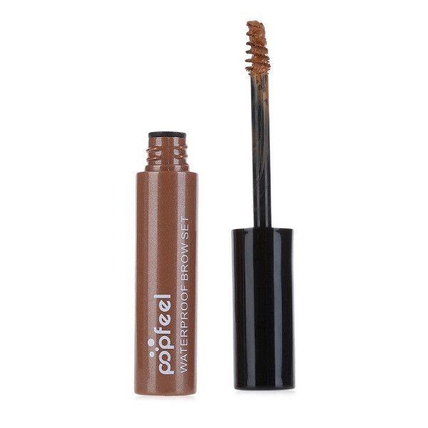 3 Colors Natural Eyebrow Gel Waterproof Dye Eyebrow Enhancers Mascara Cream Makeup Set Kit Long Lasting Brown Gel Beauty Set