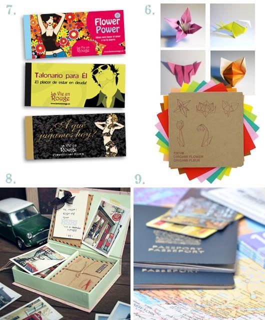 Bodas de papel bodas pinterest regalos para el - Regalos de primer aniversario ...