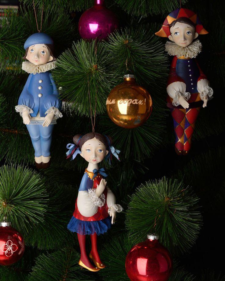 Tamara Pivnyuk Art Dolls / Dolls / Christmas Tree Dolls