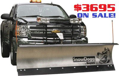 MD75 SnowDogg Snow Plows on Sale Now at Hayden's in Sparta,NJ 07871