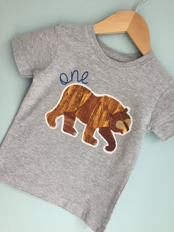 Brown Bear Brown Bear birthday shirt. Any size or by leoandlyla