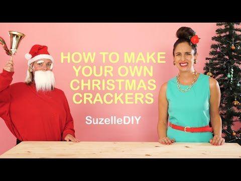 SuzelleDIY: - Humor -  How to make your own Christmas crackers