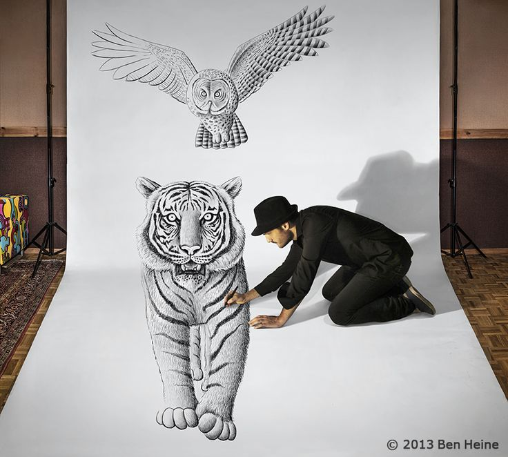 How To Draw 3D Art On Paper Step By Step Background 1 HD Wallpapers