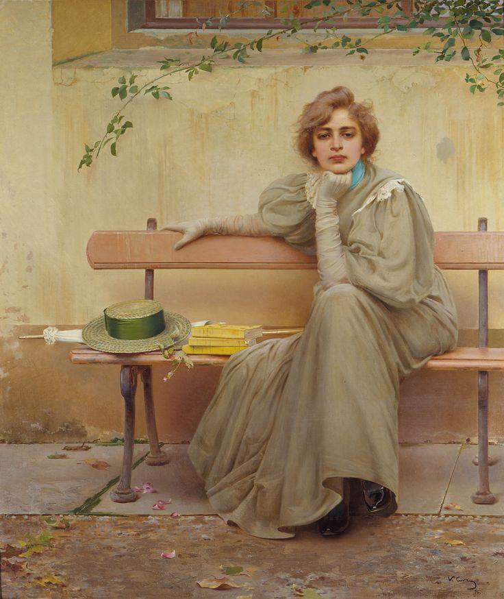 Vittorio Corcos, Sogni, 1896
