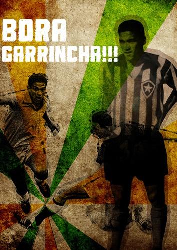 Bora Garrincha by Philipe Camarão