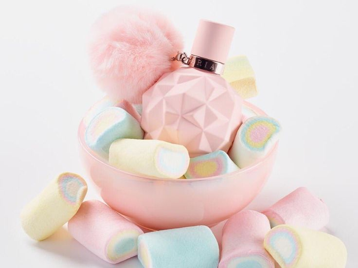 "Ariana Grande's ""Sweet Like Candy"" perfume. This is the closely behind Escada Taj Sunset on my wishlist."