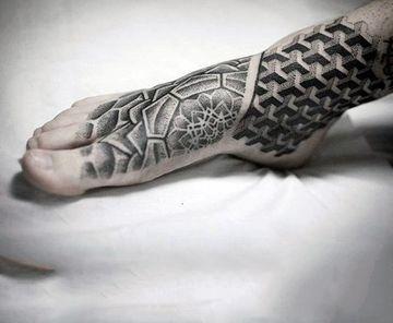 Originales Diseños De Tatuajes En El Pie Para Hombres Tatto