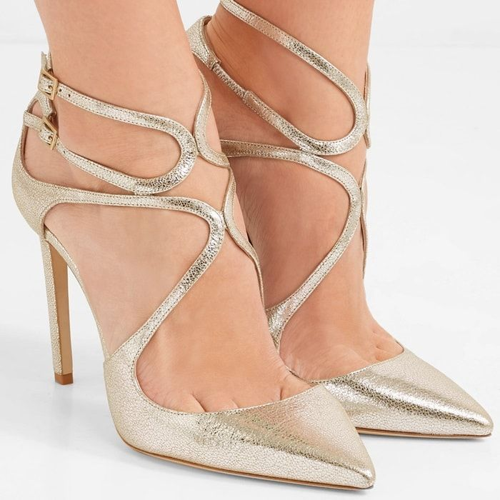 cf29f26ae707 Jimmy Choo Cinderella Shoes  20 Bridal and Party Flats and Heels ...