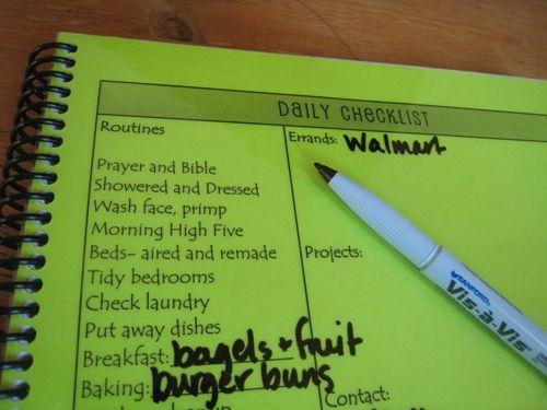 Household binder option