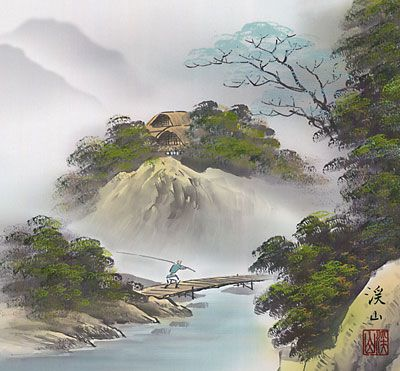 10 best Japanese landscape painting images on Pinterest ...