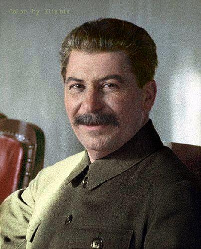 Joseph Stalin in the Kremlin, Moscow, 1932 | by klimbims