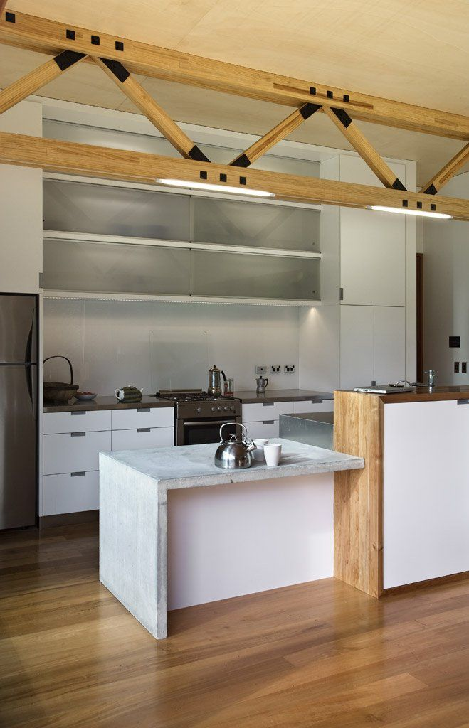 High Quality Great Barrier House By Crosson Clarke Carnachan Architects Keuken Hout  Beton Rvs Great Pictures
