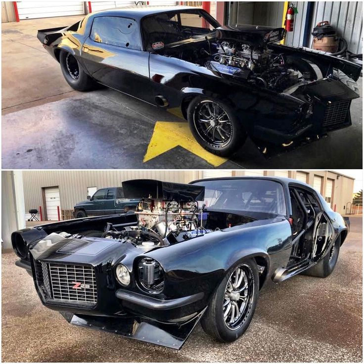 Monza from Street Outlaws has got that Camaro looking real good after some work on the paint and body!