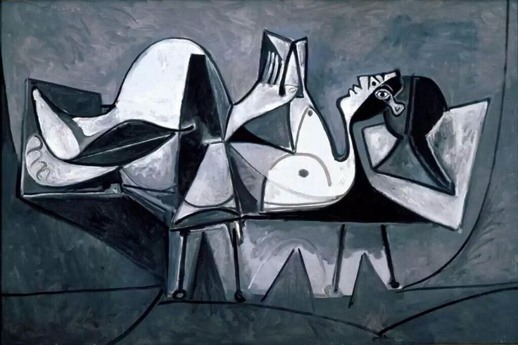 Pablo Picasso Reclining Woman Reading 1960