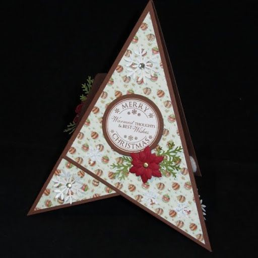 Stempeleinmaleins: Triangle card tutorial by Evelyn