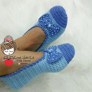c6c14cc00d Sapatilha de Crochê Adulto - Como Faço