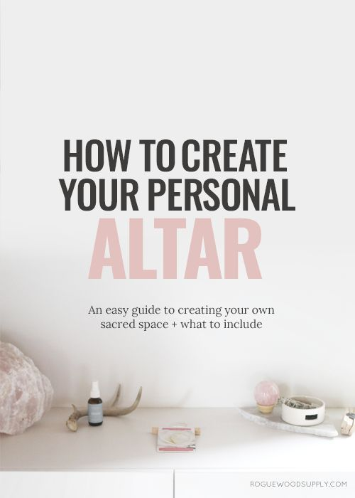 Sometimes, you just need a little space. Sometimes, you need a little room to breathe. To think. To reflect. Having your own little spaceto take a little space for yourself,can be a total game changer for your personal well-being. Personal altars are a great tool for the modern witch. Th