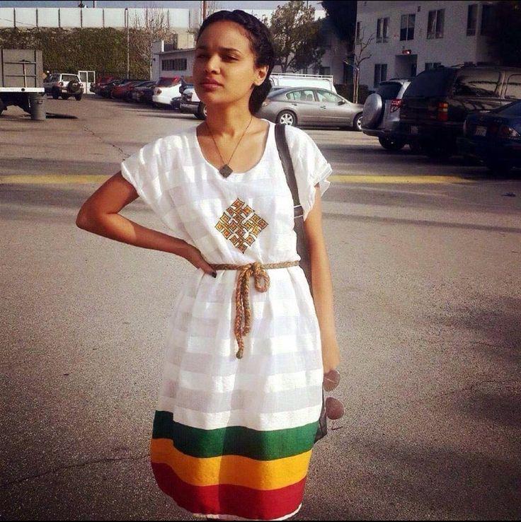 Cute Dress Ethiopian Eritrean Fashion Pinterest