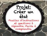 Projet Final - Créer un état - Études Sociales