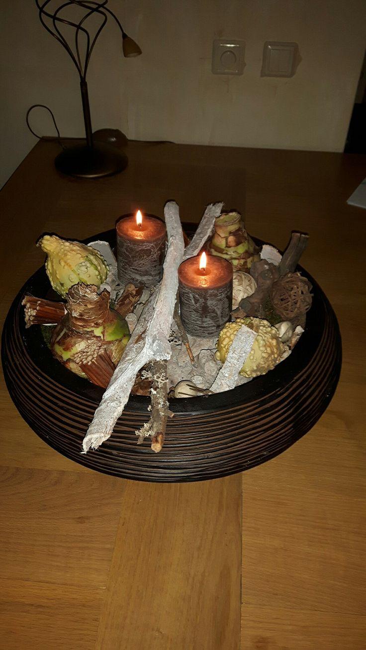 Herfst met amaryllis