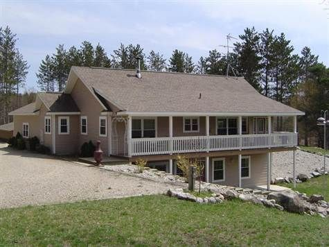 Ranch styles pole barn home reduced 100 000 home huge for Pole barn house with basement