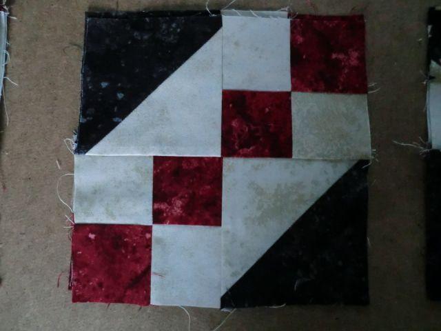 My quilt of valour block 18