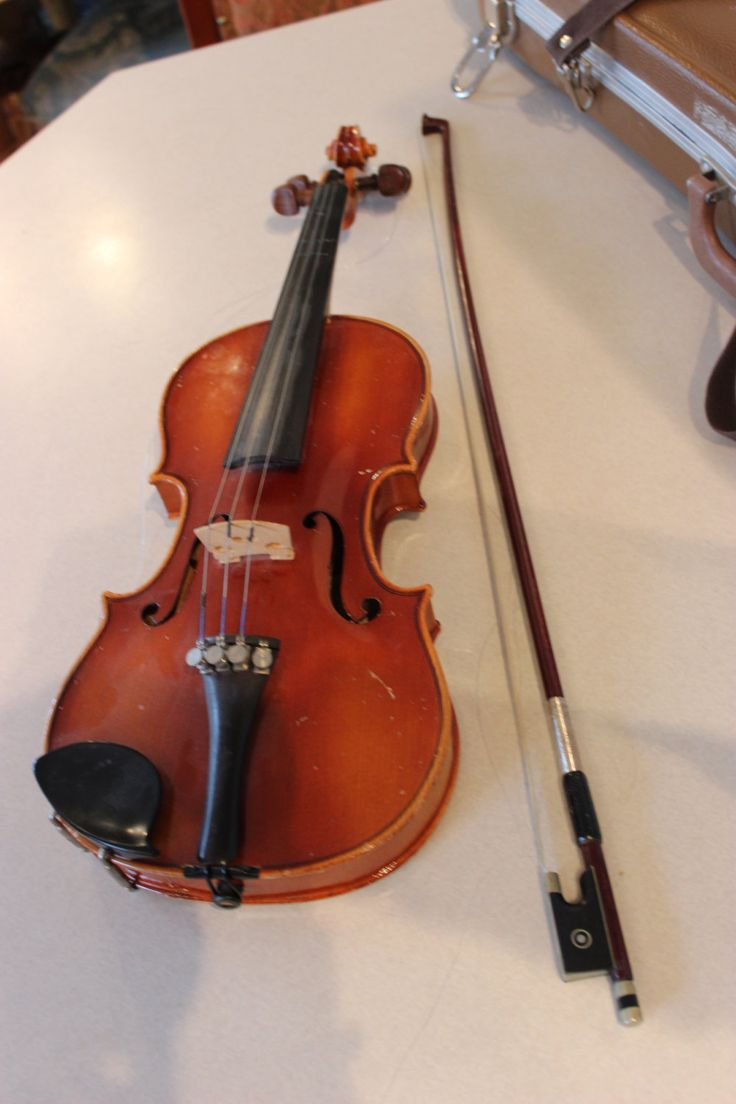 Vintage 1976 Copy of Antonius Stradivarius Violin Bow and Case West Germany by Calessabay on Etsy