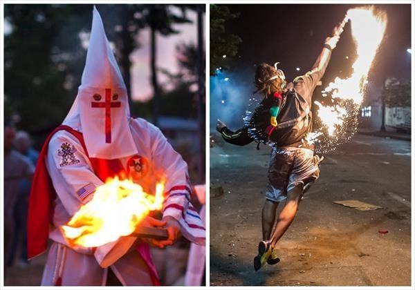 """Opina articulista del Periódico Mexicano LA JORNADA Opositores violentos son un 'Ku Klux Klan tropical'"""""""